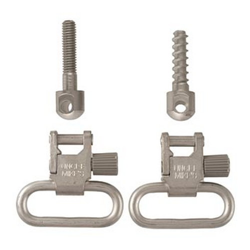 uncle mike's - Quick Detach - QD115 NKL 1IN SLING SWIVEL for sale