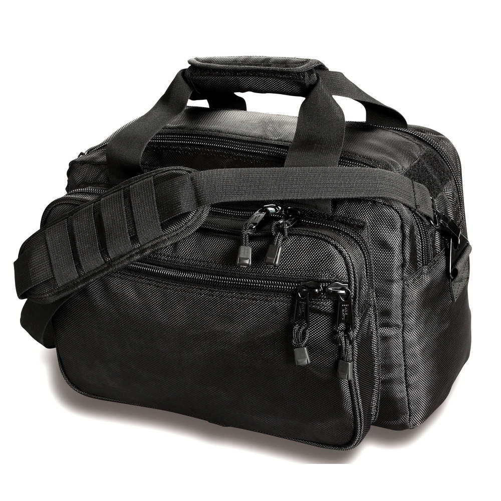 uncle mike's - 53411 - SIDE-ARMOR DELUXE RANGE BAG BLK for sale