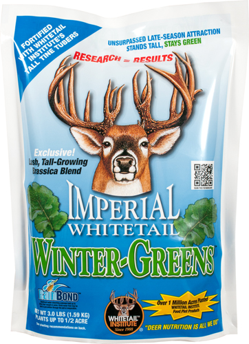 WHITETAIL INSTITUTE WINTER- GREENS 1/2 ACRE 3LBS FALL - for sale