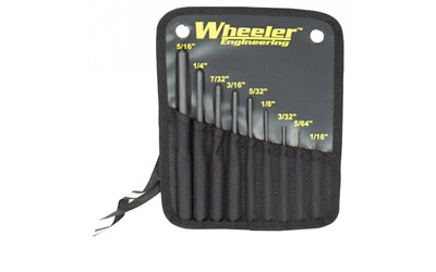 wheeler - Roll Pin Punch Set - ROLL PIN PUNCH SET for sale