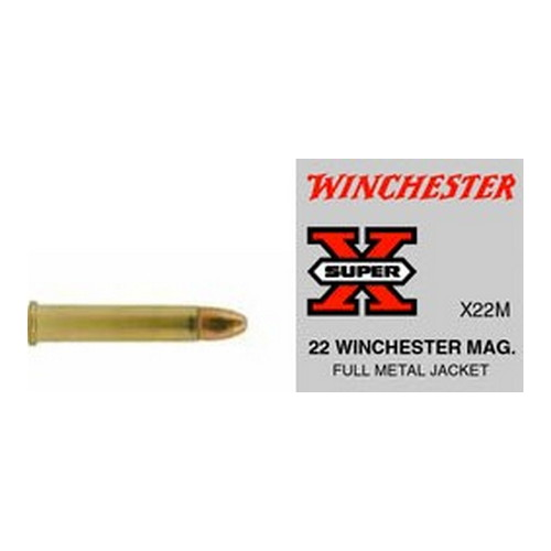 WIN AMMO SUPER-X 22MAG FMJ 50/40 - for sale