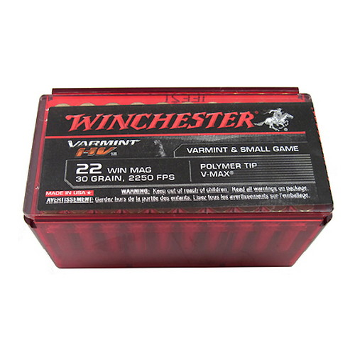 WIN 22MAG AMMO VARMINT HV 50/20 - for sale