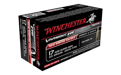 WIN 17WSM VARMINT 25GR HE 50/10 - for sale